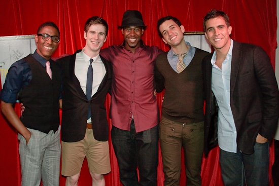 Kristen-Alexander Griffith, Joel T. Bauer, Marcus Paul James, Nic Cory and Josh Seggara