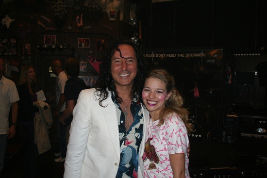 Steve Augeri and Savannah Wise