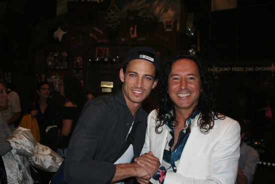 James Carpinello and Steve Augeri