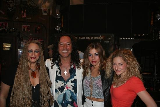 Michele Mais, Steve Augeri, Angel Reed and Lauren Molina
