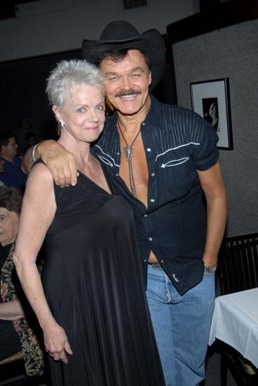 Janet Carroll and Randy Jones