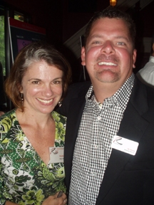 Denice Hicks and Pat Patrick