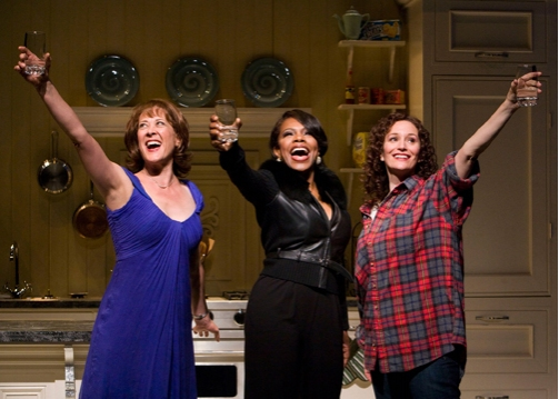 Karen Ziemba, Sheryl Lee Ralph and Barbara Walsh Photo