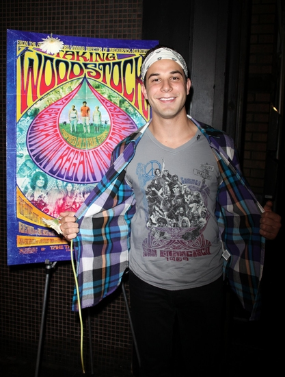 Skylar Astin at 'Taking Woodstock' Premiere at Landmark's Sunshine Cinema