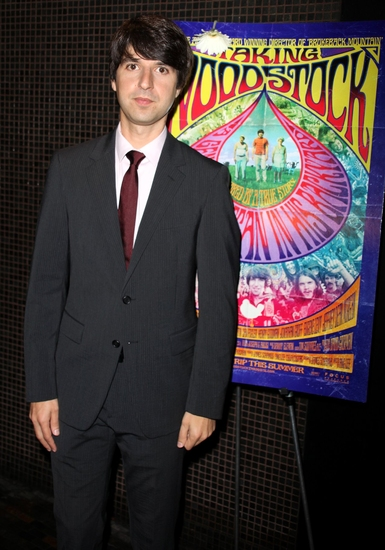 Demetri Martin at 'Taking Woodstock' Premiere at Landmark's Sunshine Cinema