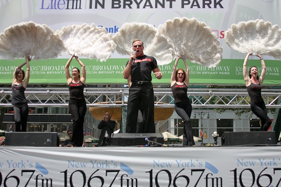 Photo Coverage: 'SHREK', 'NAKED', CHICAGO And JERSEY BOYS Perform At 'BROADWAY IN BRYANT PARK'