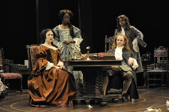 Nicolai Correia-Damude, Lisa Codrington, Graeme Somerville and Andrew Bunker