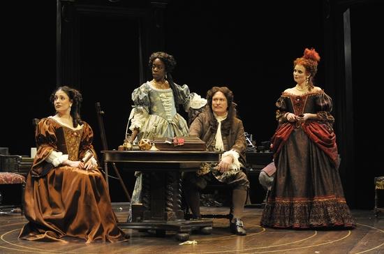 Nicolai Correia-Damude, Lisa Codrington, Benedict Campbell and Claire Jullien Photo