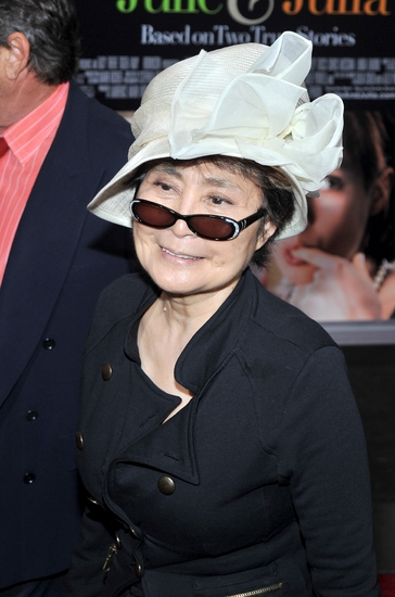 Yoko Ono at 'Julie & Julia' Holds New York Premiere