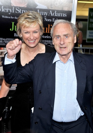 Tina Brown and Harold Evans