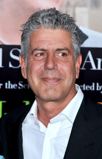 Anthony Bourdain at 'Julie & Julia' Holds New York Premiere