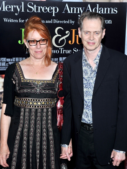 Jo Andres and Steve Buscemi at 'Julie & Julia' Holds New York Premiere