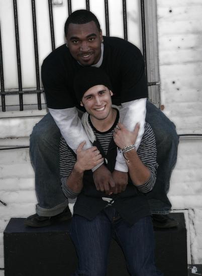 Dez Walker (Collins) and Vince Kelley (Angel)