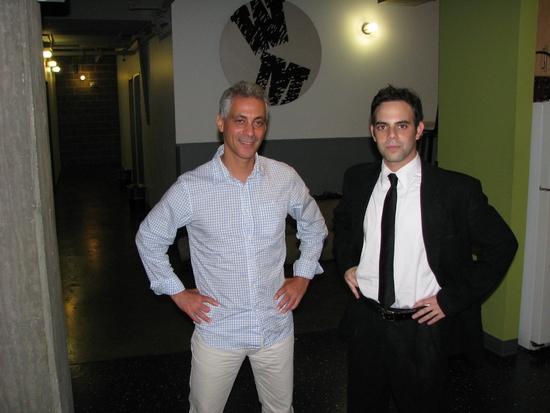 Rahm Emanuel with Seth Weitberg