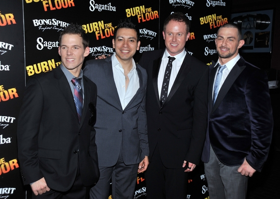 Photo Coverage: BURN THE FLOOR Opening Night Party