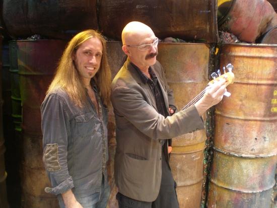 Dan Grennes (bass guitar) and Tony Levin