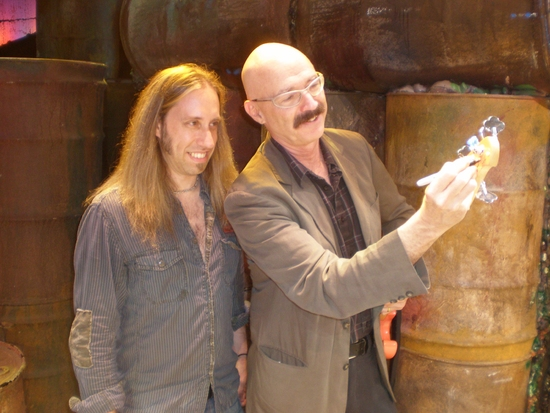 Dan Grennes (bass guitar) and Tony Levin