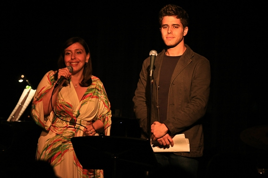 Laura Pietropinto and Josh Young at 'CUTTING-EDGE COMPOSERS' Concert At The Laurie Beechman Theater