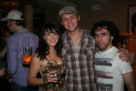 Rachel Potter, Matt De Angelis and Johnny Milani