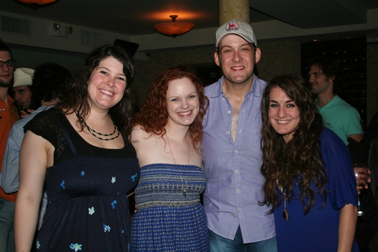 Lauren Elder, Megan Reinking, Andrew Kober and Hannah Shankman