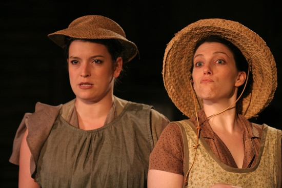 Meredith Bell Alvarez and Brigitte Ditmars at Signal Theatre Ensemble Presents THE BALLAD