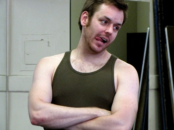 Photo Flash: THE FULL MONTY Cast Bares All In Rehearsals In Rehearsals In NYC, Show Opens 8/12