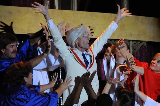 Chorus with Lee Garrow as Melvin P. Thorpe