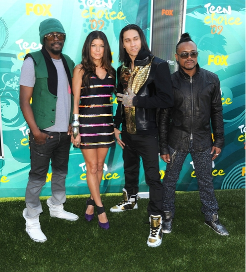 The Black Eyed Peas at Teen Choice Awards 2009 - Arrivals