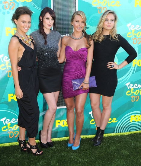 Audrina Patridge, Rumer Willis, Briana Evigan and Leah Pipes