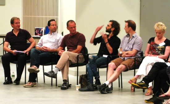 Stas Kmiec, Andrew Asnes, Peter Pucci, Daniel Fish, Matt Williams, Melinda Atwood