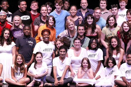 The cast of Broadway Dreams