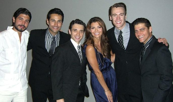 Photo Flash: Ali Landry Visits 'JERSEY BOYS' Las Vegas