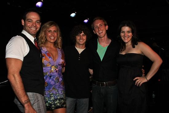 Bobby Cronin, Jenna Noel, Larkin Bogan, Jacob Richard and Auri Marcus