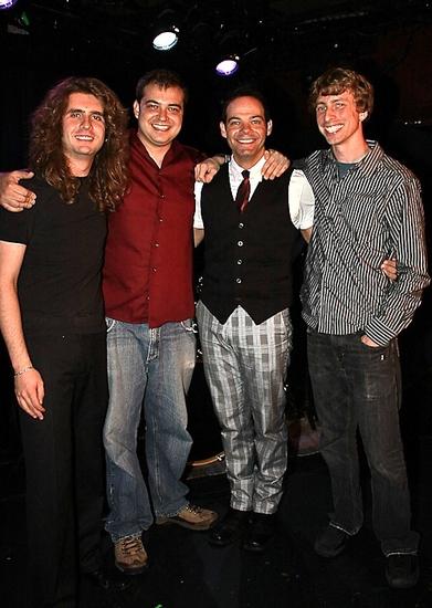 Chris Lane, Josh Samuels, Bobby Cronin and Danny Stone