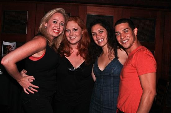 Shea Sullivan, Katie Thompson, Marisa Echeverria and Ernesto Alonso Palma