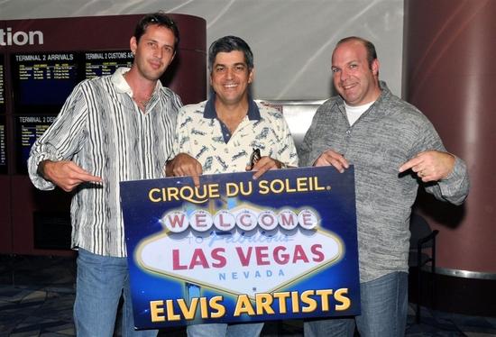 Photo Flash: Cirque du Soleil Welcomes 'ELVIS' Show Cast To Las Vegas' McCarran Airport