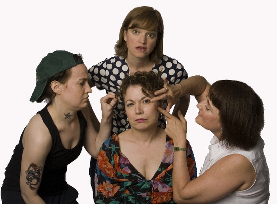 Katherine Williams, Elizabeth Whitney, Jacqueline Sydney, and Birgit Darby