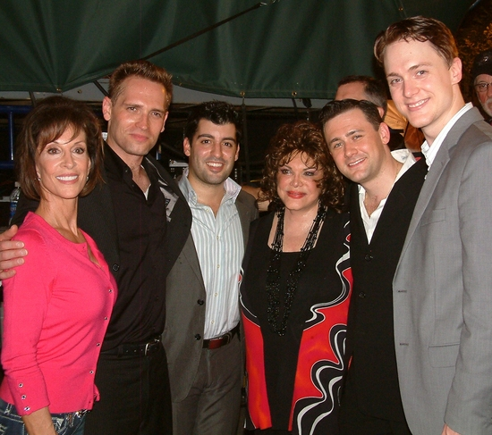 Deana Martin, former cast member Bryan McElroy, John Michael Dias, Connie Francis, Mi Photo