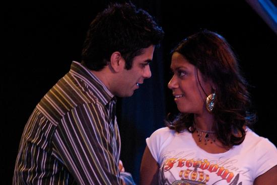 Anand Bhatia and Nadia Anwar