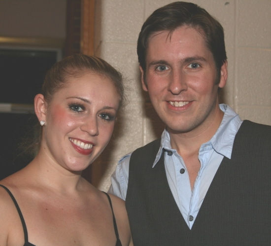 Jessica Azenberg (Anne) and David Carney (Jean-Michel)