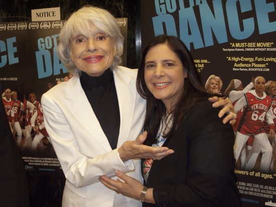 Photo Flash: West Coast Premier Of GOTTA DANCE Hosted By Carol Channing