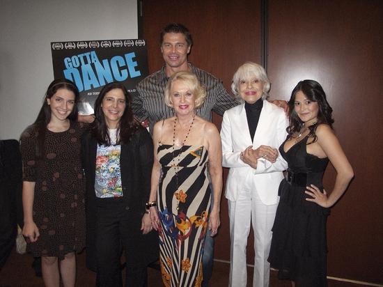 Sammi Cannold, Dori Berinstein, Roland Kickinger, Tippi Hedren, Carol Channing and Ro Photo