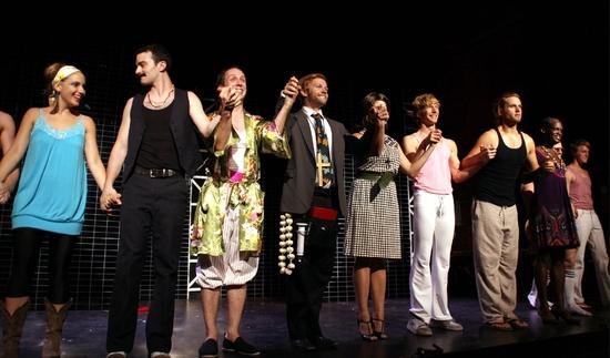 Jenna Coker-Jones, Eric Rubbe, Steven Stafford, Marty Thomas, Kristy Cates, Ben Knox, Dan Amboyer, JamaAl Wilson and ensemble