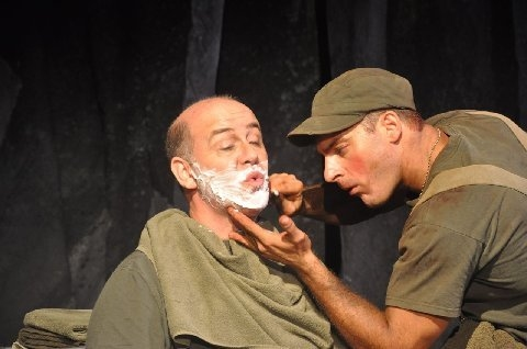 Allen Andrews and Christian Levatino at Gangbusters Theatre Company Brings WOYZECK To NY Int'l Fringe Fest Through 8/26