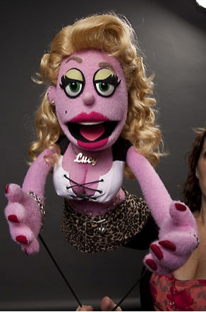Photo Flash: AVENUE Q's 'Lucy The Slut' TimeOut NY Cover Shoot Outtakes