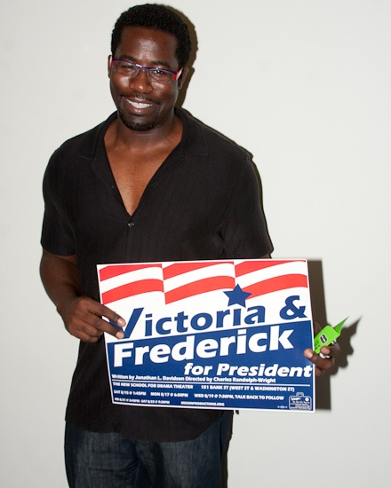 Photo Coverage: 'VICTORIA & FREDERICK FOR PRESIDENT' Opening Night