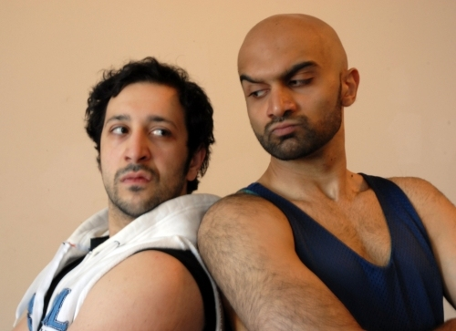 Desmin Borges and Usman Ally at Victory Gardens Theater Presents THE ELABORATE ENTRANCE OF CHAD DEITY 9/25 Thru 11/1