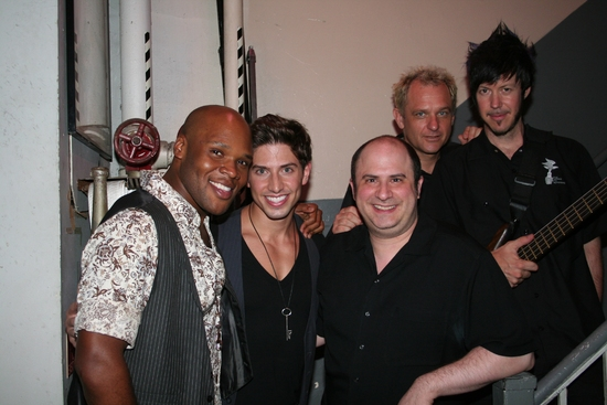 Michael James Scott, Nick Adams, James Sampliner, Shannon Ford and Mark Vanderpoel Photo