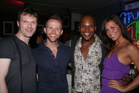 Matt Clemons, Marty Thomas, Michael James Scott and Emily Loftiss