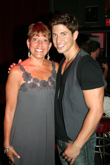 Nick Adams with his Mom Janet Wojtalik